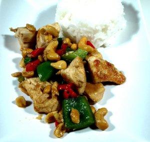 Prøv også Szechuan kylling.
