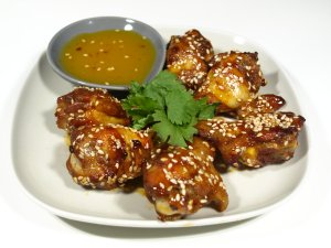 Prøv også Kylling i appelsin- og honningsaus.