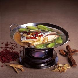 Prøv også Nutritient Fish Head Soup Næringsrik suppe på fisk.