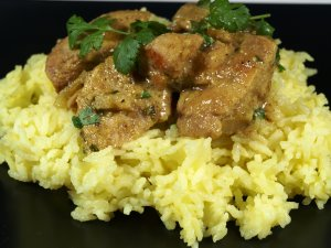 Pr�v ogs� Chicken Curry.