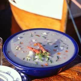 Prøv også Sørlandets fiskesuppe.