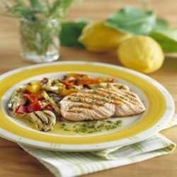 Prøv også Grillet laksefilet med grønnsaker og urter.