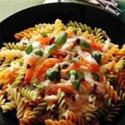 Prøv også Pasta med røykt laks.