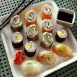 Sushi rull oppskrift.