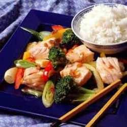 Prøv også Laks i wok.