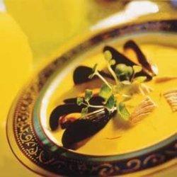 Prøv også Laksesuppe med safran og blåskjell.