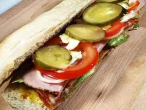 Prøv også Hero-sandwich.