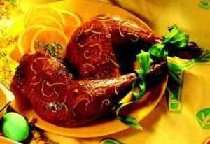 Prøv også Appelsinglaserte kalkunlår med appelsinsaus.