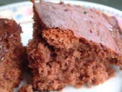 Sjokoladekake i langpanne 2 oppskrift.