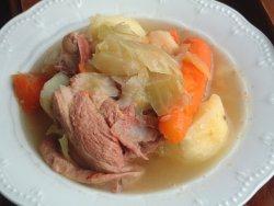 Prøv også Saltkjøttsuppe av lam.