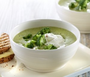 Prøv også Brokkolisuppe med ostetoast.