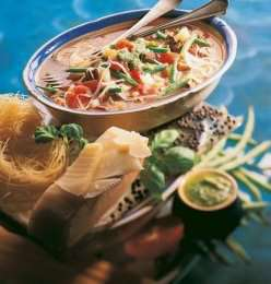 Suppe med pistou 2 oppskrift.