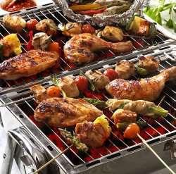 Grillmix med kylling oppskrift.