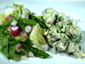 Prøv også Salat med laks og avocado.