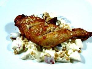 Prøv også Grillet kylling med Waldorfsalat.