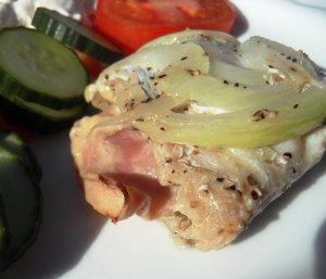 Prøv også Fisk med ost og skinke.
