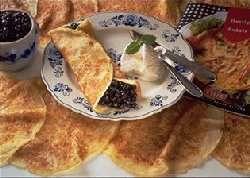 Prøv også Blåbærpannekaker med Iskrem.
