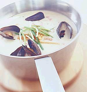 Prøv også Fiskesuppe med blåskjell.