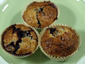 Prøv også Frukt/bærmuffins med havregryn.