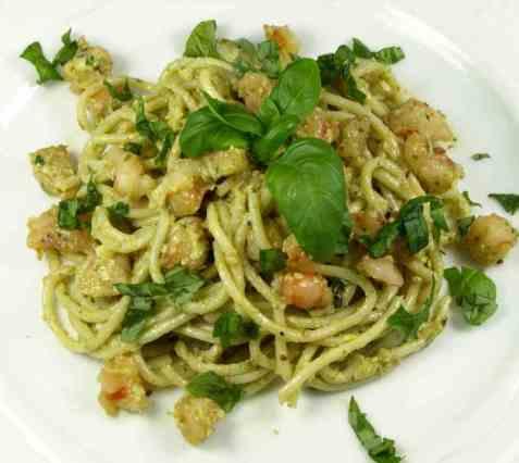 Prøv også Pasta med pesto 2.