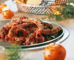 Try also Pinnekjøtt i tomatsaus.