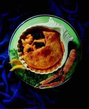 Prøv også Innbakt kylling i hummersaus.