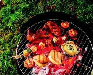 Kyllinglår med grillsaus 2 oppskrift.