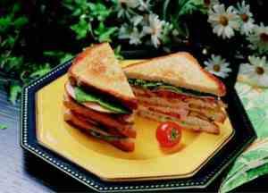Prøv også Kylling club sandwich.