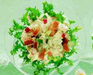 Prøv også Kyllingsalat med pærer.