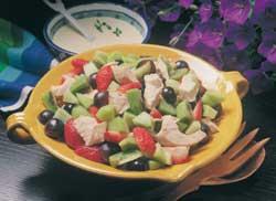 Prøv også Kyllingsalat m/frukt.