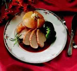 Prøv også Helstekt kalkunbryst med bakte poteter.