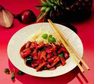 Prøv også Kinesisk sur-søt gryte.