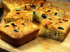Prøv også Foccacia italiensk brød.