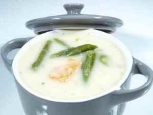 Prøv også Aspargessuppe med laks.