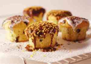 Prøv også Muffins med sjokoladebiter.