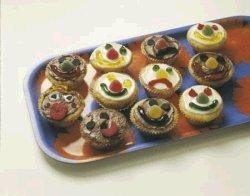 Muffins for små kakemonser oppskrift.