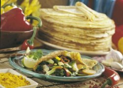 Pannekaker med grønnsaker oppskrift.