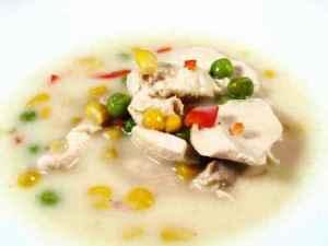 Prøv også Kremet Kyllingsuppe med mais.