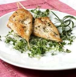 Prøv også Urtemarinert kylling-kebab.