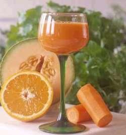 Vitaminsjokk oppskrift.