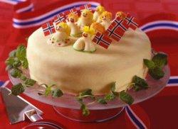 Prøv også Barnas 17. mai - kake.