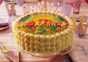Prøv også Barn av regnbuen - kake.