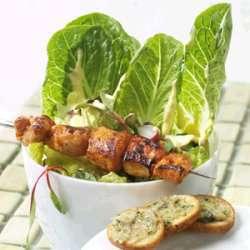 Prøv også Kyllingspidd med Cæsarsalat.