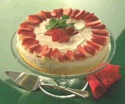 Kake med smak av sommer oppskrift.