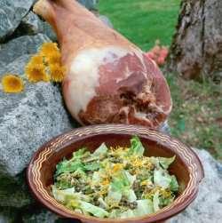 Prøv også Spekeskinke og salat med nykål og linser.