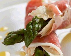 Prøv også Asparges og parmesanost i spekeskinke.