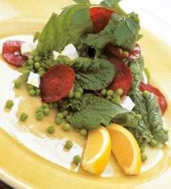 Spekemat med spinat og fetaost oppskrift.
