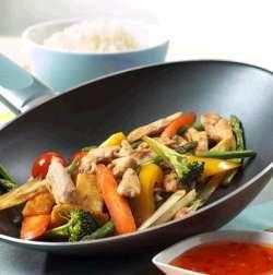 Les mer om Marinert kylling i wok hos oss.