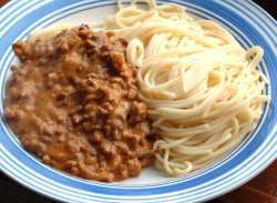 Prøv også Spaghetti Bolognese 2.