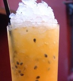 Passion fruit collins oppskrift.